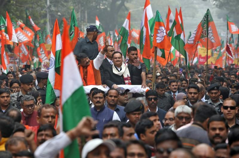 BJP picks JP Nadda as president amid mounting challenges