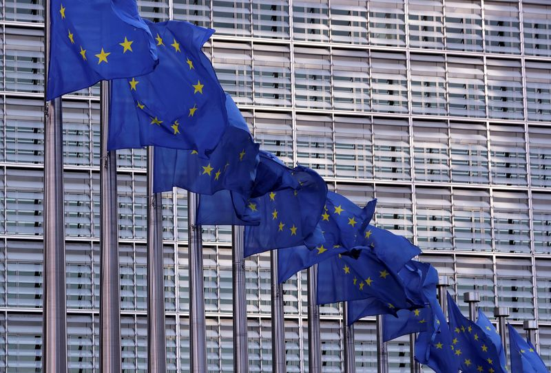 Euro zone set for record recession, inflation to vanish